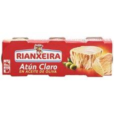 ATUN CLARO ACEITE OL RIANXEIRA PN 3X80g