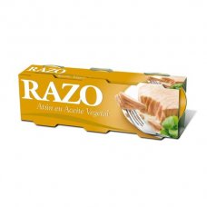 ATUN EN ACEITE DE GIRASOL RAZO (CALVO)