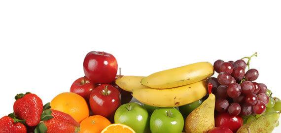 Sección de Fruta de La Rúcula