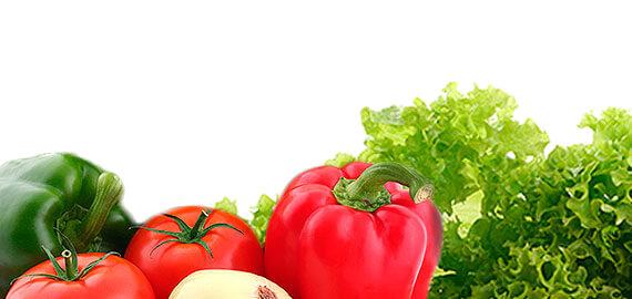 Sección de Verduras de La Rúcula